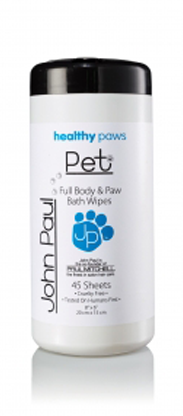 Full Body & Paw Bath Wipes